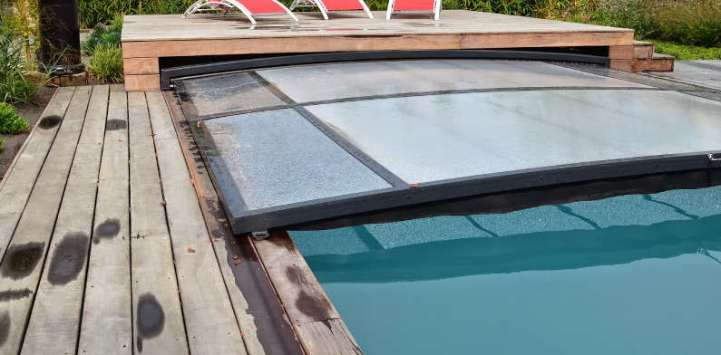 abri piscine outdoor